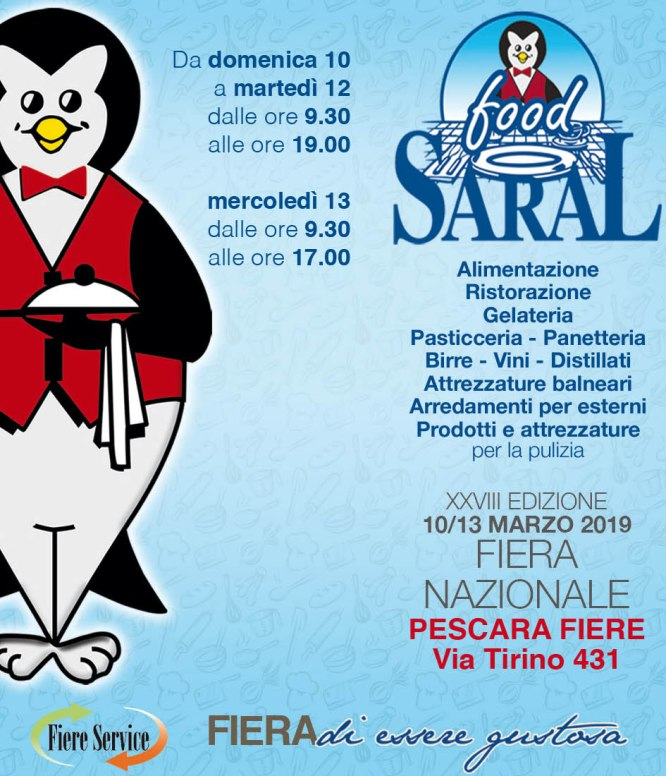 SARAL FOOD TARG NATIONAL - PESCARA