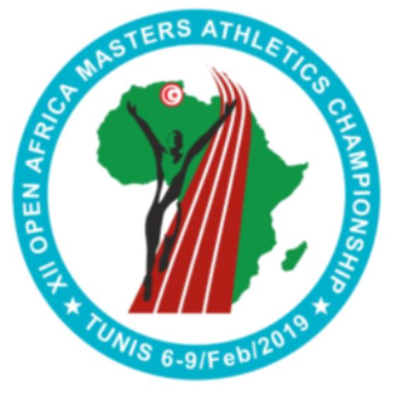 CAMPIONATI AFRICANI MASTERS DI ATLETICA - TUNISI (TUNISIA)