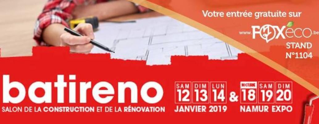 FIERA BATIRENO 2019 - NAMUR (BELGIO)